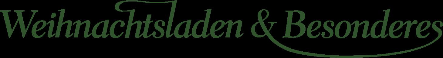 Weihnachtsladen & Besonderes Logo